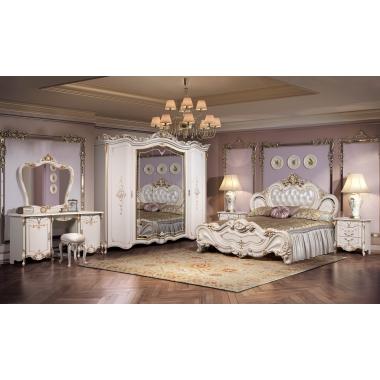 Mobila Dormitor Eliza Crem