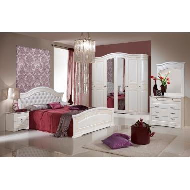 Mobila dormitor Venera Alb