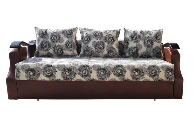 Canapea extensibila Lory, Maro / Crem